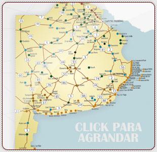 Rutas y accesos a buenos aries mapa de buenos aires argentina mapa thecheapjerseys Images