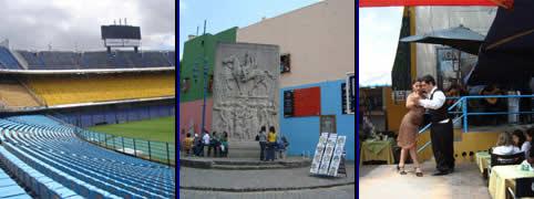 La Boca en la Ciudad de Buenos Aires
